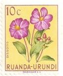 Stamps Rwanda -  Flores