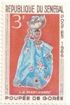 Stamps Senegal -  La vendedora