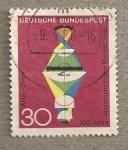 Sellos de Europa - Alemania -  Construccion microscopios