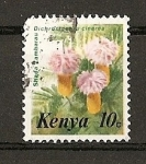 Sellos del Mundo : Africa : Kenya : Flores.