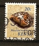 Stamps Africa - Kenya -  Conchas.