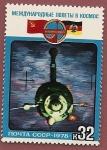 Stamps Russia -  Intercosmos - Cooperación con Alemania DDR - vuelo conjunto Soyuz 31