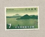Sellos de Asia - Japón -  Lago