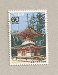 Sellos de Asia - Japón -  Templete
