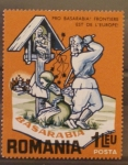 Stamps Romania -  basarabia