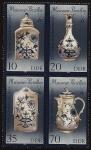 Sellos de Europa - Alemania -  250 aniversario de las  Porcelanas de Meissen - primera de Europa