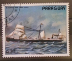 Sellos del Mundo : America : Paraguay : gluckauf 1886