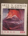 Sellos de America - México -  paricutin. doctor atl