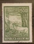 Sellos del Mundo : America : Argentina : caza mayor en los lagos del sur