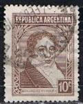 Sellos de America - Argentina -  Scott  431  Rivadavia (3)