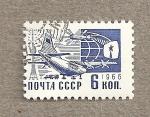 Sellos de Europa - Rusia -  Avión