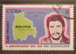 Sellos de America - Cuba -  V aniversario del dia del guerrillero, ernesto guevara che