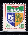 Sellos del Mundo : Europa : Francia : Escudo Saint Denis