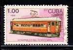 Sellos del Mundo : America : Cuba : Ferrocarril