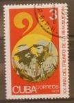 Stamps Cuba -  XX aniversario triunfo de la revolucion