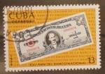 Sellos de America - Cuba -  XXV aniversario del banco nacional