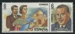 Sellos del Mundo : Europa : España : E2762-63 - Maestros Zarzuela