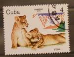 Sellos del Mundo : America : Cuba : leon