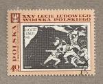 Sellos de Europa - Polonia -  Batalla Montecasino