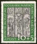 Sellos de Europa - Alemania -  DEUTSCHE BUNDES POST - 700 AÑOS DE MARÍA IGLESIA LÜBECK
