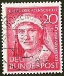 Sellos de Europa - Alemania -  DEUTSCHE BUNDES POST - ELSA BRANDSTROM