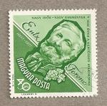 Sellos de Europa - Hungría -  Entz Ferenc