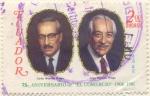 Stamps Ecuador -  El Comercio