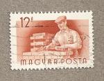 Sellos de Europa - Hungría -  Albañil