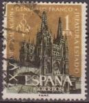 Stamps Spain -  España 1961 1373 Sello º Exaltación General Franco Timbre Espagne Spain Spagna