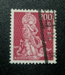 Stamps Japan -  Escultura