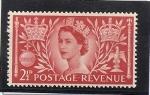 Sellos del Mundo : Europa : Reino_Unido :  Coronacion Isabel II