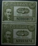 Sellos de America - Colombia -  Timbre Nacional Esteban Jaramillo