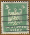 Stamps Europe - Germany -  AGUILA ALEMANA