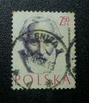 Stamps Poland -  Dr.Benedykt Bowsky 1833-1930