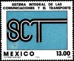 Sellos del Mundo : America : México : SISTEMA DE COMUNICACIONES Y TRANSPORTE