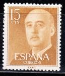 Sellos de Europa - España -  1144 General Franco  (232)
