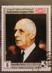 Stamps Asia - Yemen -  charles de gaulle