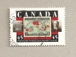 Sellos de America - Canadá -  Correo imperial de 1 p