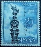 Sellos de Europa - España -  Monumento a Colón / Barcelona