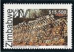 Sellos del Mundo : Africa : Zimbabwe : Monumento Nacional  ruinas de Khami