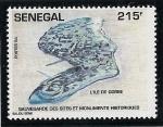 Stamps Senegal -  Isla de Goree