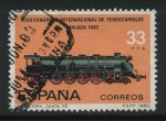 Sellos del Mundo : Europa : España : E2672 - XXIII Congreso Inter. Ferrocarriles