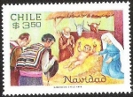 Stamps Chile -  NAVIDAD - CHILE