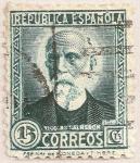 Stamps Spain -  Nicolás Salmerón Alonso