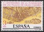 Sellos de Europa - España -  V CENT FUNDACIÓN DE LAS PALMAS