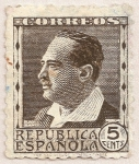 Stamps Spain -  Vicente Blasco Ibáñez