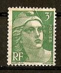 Sellos de Europa - Francia -  Marianne - Tipografiado.