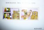 Stamps Europe - Andorra -  BARCELONA SEDE OLIMPICA 92