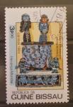 Stamps Guinea Bissau -  trono de perlas