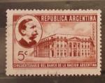 Sellos de America - Argentina -  cincuentenario del banco de la nacion argentina